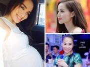 Bà bầu - Điểm danh những sao Việt sinh con đầu năm 2015