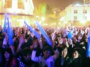 Tin tức - Nhà hát lớn Hà Nội đẹp lung linh đêm giao thừa