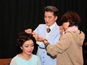 Làng sao - Mr. Đàm tự tay làm tóc cho Phạm Thu Hà