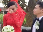 Làng sao - Lê Thúy khóc nức nở trong lễ rước dâu