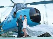 Eva Yêu - Cặp đôi chụp ảnh cưới bên máy bay B52
