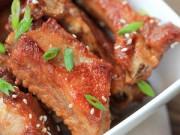 Bếp Eva - Sườn sốt cà chua hấp dẫn và mời gọi