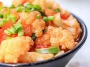 Bếp Eva - Súp lơ trắng xào cà chua: Đơn giản mà ngon bất ngờ