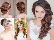 Làm đẹp - Những kiểu tóc cô dâu không bao giờ lỗi mốt