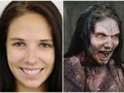 Làm đẹp - Thủ thuật hoá trang thành zombie trong phim Mỹ