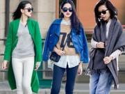 Thời trang - 3 cách mặc quần jeans đẹp nhất trong mùa đông