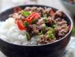 Bếp Eva - Giản dị thịt bò băm xào ăn kèm cơm trắng
