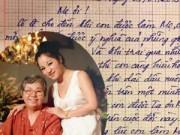 Làng sao - Danh hài Thúy Nga viết thư tay gửi mẹ khiến fan xúc động