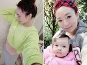 Bà bầu - Mê mẩn cách giảm mỡ bụng sau sinh của mẹ 9X