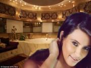 Nhà đẹp - Phòng tắm của sao xa hoa như spa cao cấp