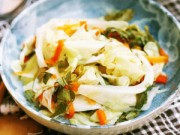 Bếp Eva - Bắp cải muối xổi thêm vị cho bữa ăn