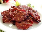 Bếp Eva - Cách làm bò khô không cần lò nướng