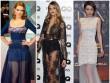 Thời trang - Sao nữ chuộng mốt váy trong suốt quyến rũ