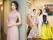 Làng sao - HH Kỳ Duyên xinh tươi bên dàn người đẹp Việt