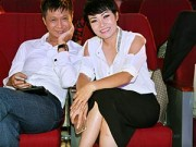 Làng sao sony - Phương Thanh vui vẻ bên đạo diễn Lê Hoàng