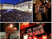 Trắng đêm cầu nguyện cho các nạn nhân vụ xả súng ở Paris