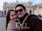 Ảnh đẹp Eva - Ảnh trăng mật hạnh phúc của mỹ nhân đẹp nhất Philippines