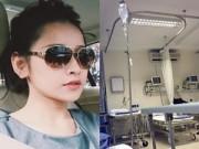 Hậu trường - Chi Pu nhập viện truyền nước vì làm việc quá sức