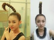 Tư vấn làm đẹp - 'Chết cười' với những kiểu tóc độc của sao Hàn