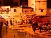 Tin tức - TPHCM: Sàn bê tông sập, công nhân hoảng hốt tháo chạy