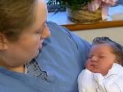Bà bầu - Lạ lùng: 1 giờ trước khi sinh nở mới biết có bầu