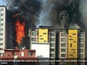 Clip Eva - Cháy nhà 10 tầng ở Seoul, 104 người thương vong