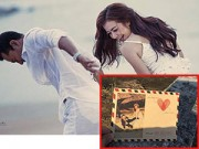 Làng sao - Lộ thiệp cưới ấn tượng của Huỳnh Đông - Ái Châu