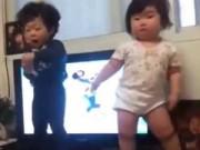 Clip Eva - Đáng yêu em bé béo ú nhảy theo nhạc