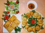 Thực đơn – Công thức - Cuối tuần thử làm bánh gối vỏ Việt nhân Âu