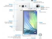 Góc Hitech - Samsung ra mắt Galaxy A7: smartphone mỏng nhất của hãng