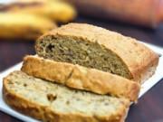 Thực đơn – Công thức - Bánh mì chuối thơm nức chiều đông