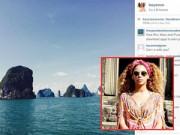 Hậu trường - Beyonce đăng ảnh du lịch tại Vịnh Hạ Long
