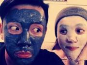 Mỹ phẩm - Sao đua nhau đắp mặt nạ rồi chụp ảnh selfie