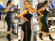 Làng sao - Choáng ngợp trước đường cong của Kim Kardashian