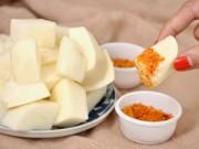 Mang thai 6-9 tháng - Củ đậu – Đồ ăn rẻ tiền, nhiều công dụng với mẹ bầu