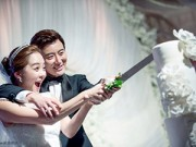 Làng sao - Những đám cưới hot nhất showbiz Hàn 2014