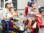 Tin tức - Trẻ từ 6 tuổi không đội mũ bảo hiểm sẽ bị phạt tới 200.000 đồng