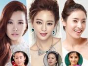 Phẫu thuật thẩm mỹ - Ngắm mỹ nhân Hàn trước và sau khi phẫu thuật thẩm mỹ