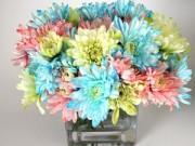 Nhà đẹp - Bí quyết nhuộm màu hoa rực rỡ đón Tết