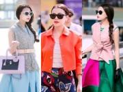 Thời trang Sao - Trà Ngọc Hằng sang chảnh tại Hong Kong