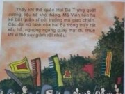 Giáo dục - NXB Giáo dục gây sốc với sách lịch sử có từ phản cảm