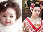 """Nuôi con - Con gái Elly Trần khác lạ khi hoá """"Võ Tắc Thiên"""""""