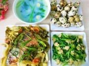 Thực đơn – Công thức - Bữa cơm chiều đậm đà cả nhà đều mê
