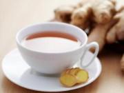 Sức khỏe - Trời lạnh đừng quên uống trà gừng!