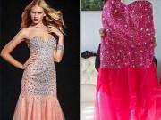 """Thời trang cưới - """"Cười rung rốn"""" vì thảm họa mua váy cưới qua mạng"""