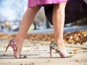 Phụ kiện - Tín đồ say đắm vì giày cao gót in họa tiết