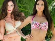 """Thời trang Sao - """"Nóng người"""" ngắm thí sinh HHHV 2014 mặc bikini"""