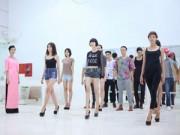 Thời trang - Thí sinh VNTM tập luyện cật lực trước chung kết