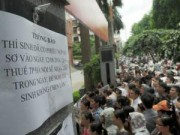 Tin tức - Tiến sỹ ngoại tỉnh được thi vào công chức Hà Nội