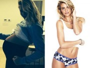 Bà bầu - Cách giảm 30kg an toàn sau sinh của siêu mẫu Úc
